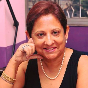 This is a photograph of Anita Mehta